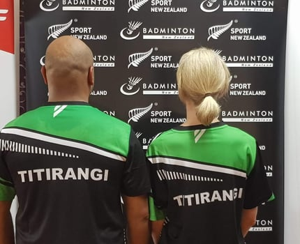 Team Titirangi T-shirts!