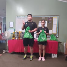 Mixed Doubles Competitive - 4th Place Ricky & Berry
