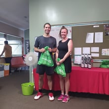 Mixed Doubles Social - 4th Place Ollie & Dale